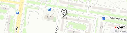ЗАЩИТА-НН на карте Нижнего Новгорода