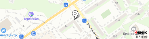 Фабрика качества на карте Нижнего Новгорода