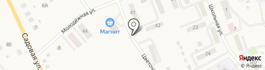 Магазин разливных напитков на карте Березовки