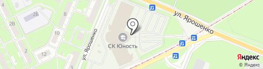 Фаворит на карте Нижнего Новгорода