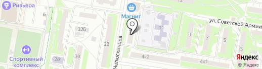 Бочка на карте Нижнего Новгорода