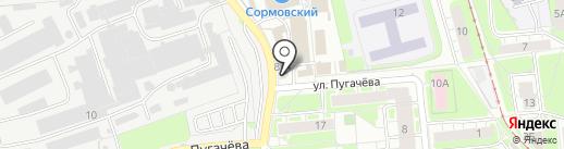 Альянс на карте Нижнего Новгорода