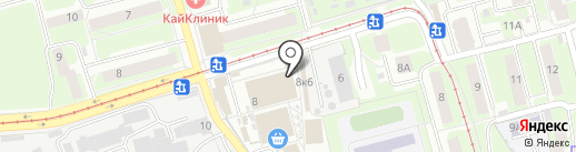 Ивановопромшерсть на карте Нижнего Новгорода