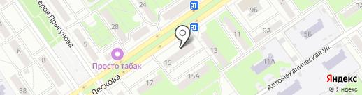 Магазин канцтоваров на карте Нижнего Новгорода