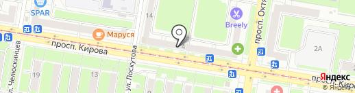 Море & More на карте Нижнего Новгорода