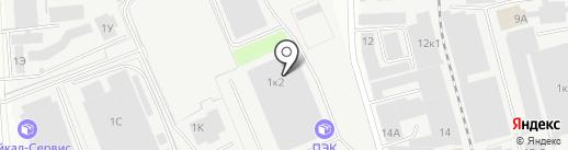 Караван на карте Нижнего Новгорода