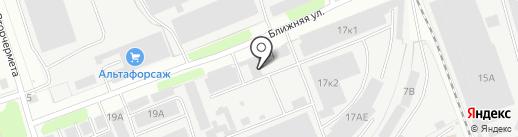 Транспортно-логистическая компания на карте Нижнего Новгорода