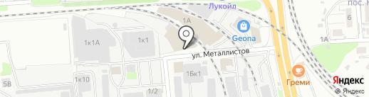 Олимпия Моторс на карте Нижнего Новгорода