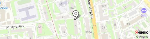 РТС на карте Нижнего Новгорода