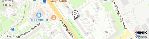 Miami на карте Нижнего Новгорода