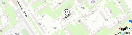 ВАЛЕНСИЯ на карте Нижнего Новгорода
