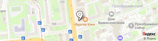 Гармония сна на карте Нижнего Новгорода