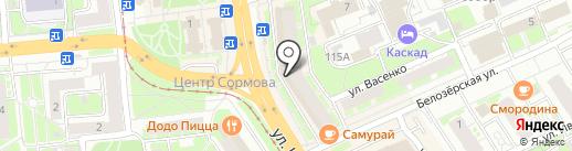 Платежный терминал, Русфинанс банк на карте Нижнего Новгорода