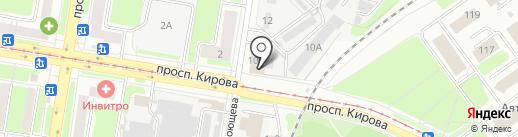 Сам на карте Нижнего Новгорода