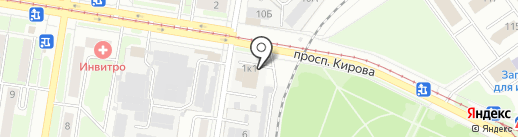 Love Birds на карте Нижнего Новгорода