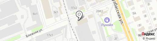 Оптторг НН на карте Нижнего Новгорода