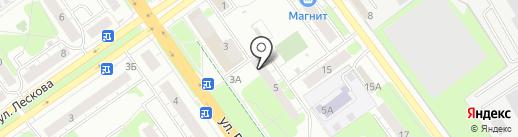 Ломбард 999,9 на карте Нижнего Новгорода