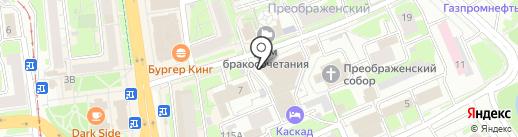 ПромподшипникИнтер на карте Нижнего Новгорода