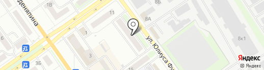 Мастерица на карте Нижнего Новгорода