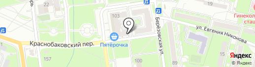Магазин трикотажа на карте Нижнего Новгорода