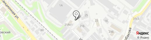 Компания по обслуживанию автокондиционеров на карте Нижнего Новгорода