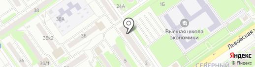 Хмельная кружка на карте Нижнего Новгорода