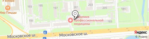 Акварель на карте Нижнего Новгорода
