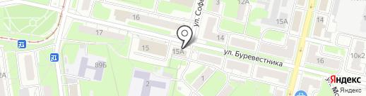 Печкинъ на карте Нижнего Новгорода