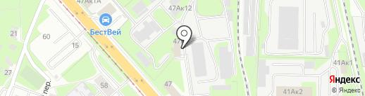 Дверной Клуб на карте Нижнего Новгорода