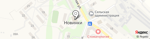 Волго-Вятский банк Сбербанка России на карте Новинок