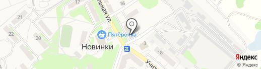 Учхоз Новинки на карте Новинок
