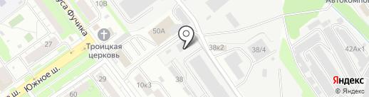 ХЕЛПЕР на карте Нижнего Новгорода