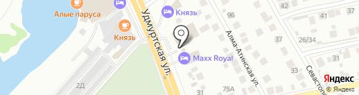 Тандыр на карте Нижнего Новгорода