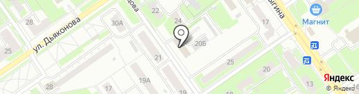Региональный Инжиниринг Центр на карте Нижнего Новгорода