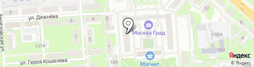МоскваГрадЪ на карте Нижнего Новгорода
