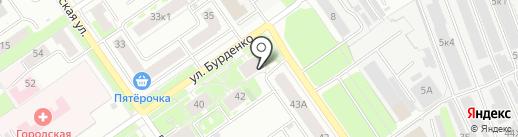 СК Лига на карте Нижнего Новгорода