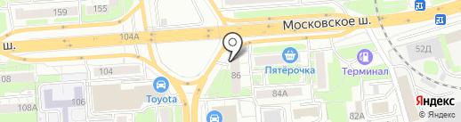 Отдел Zапчастей на карте Нижнего Новгорода