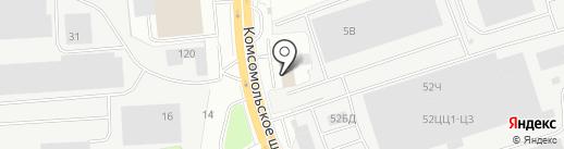 АвтоГрад на карте Нижнего Новгорода