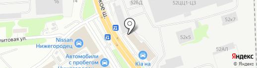 ЕВРАЗ КОМПЛЕКТ на карте Нижнего Новгорода