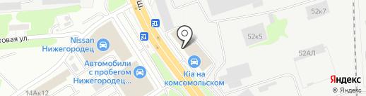 РИТТЕН ГЕОСИНТЕТИКС на карте Нижнего Новгорода