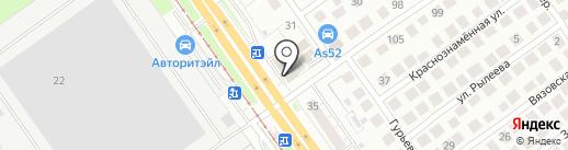 ТАЙМ-Сервис на карте Нижнего Новгорода