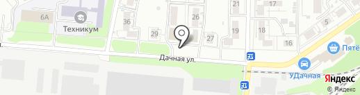 Кани на карте Нижнего Новгорода