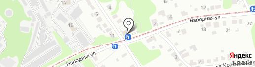 Продуктовый мини-маркет на карте Нижнего Новгорода