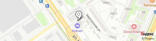ВАШ ПОМОЩНИК на карте Нижнего Новгорода