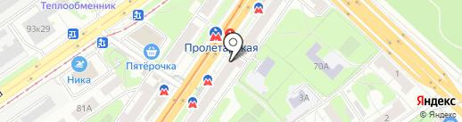 Техника Здоровья на карте Нижнего Новгорода