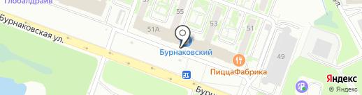 Городецкий пряник на карте Нижнего Новгорода