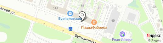 БригадирЪ на карте Нижнего Новгорода