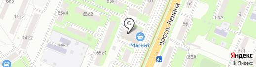 Кубера на карте Нижнего Новгорода