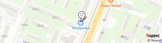Хлебница на карте Нижнего Новгорода