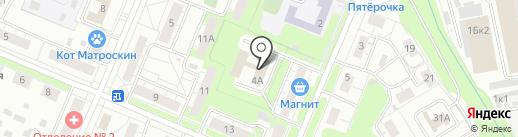 Нужное Дело на карте Нижнего Новгорода